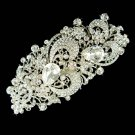 Huge Big Long Swarovski Crystal Bridal Brooch for Wedding Dress