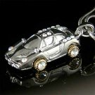 Swarovski Crystal Ferrari Enzo Race Sports Car Pendant Necklace
