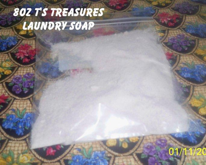8oz T's  Laundry Detergent