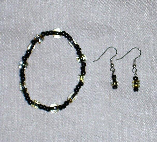 Halloween Bracelet and Earring Set #1