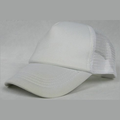 NEW CASUAL TRUCKER HAT CAP (WHITE)