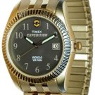 Timex Mens Expedition Indiglo Gold Tone Watch