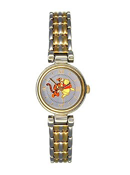 Disney By Lorus Seiko Ladies Tigger Winnie Two Tone