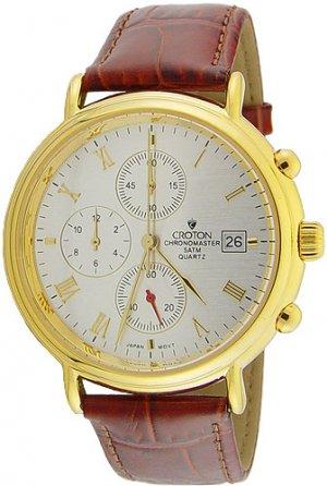 Croton 23k Chronomaster Chronograph Men's Watch