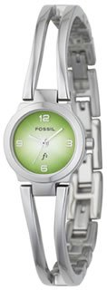 Fossil Green to Silver Dial Es9972