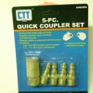 2 PC LOT OF 5 PC AIR COUPLER SET