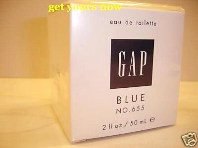 NEW GAP BLUE FOR HER NO 655 EDT PERFUME PARFUME 50 ML