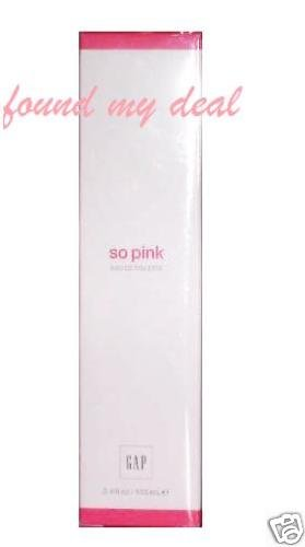 GAP SO PINK EAU DE TOILETTE SEALED MADE IN USA 100 ml