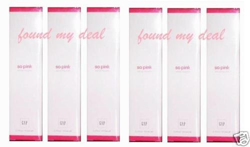 6 GAP SO PINK EAU DE TOILETTE NEW PACKAGE 100 ml /3.4oz