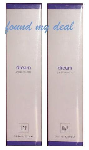 NEW GAP DREAM EAU DE TOILETTE NEW PACKAGE SEALED 3.4 OZ