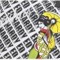 NEW AUTHENTIC ED HARDY MONOGRAM BLACK / WHITE BAG TOTE