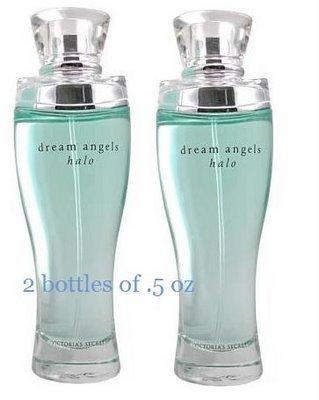 2x VICTORIA SECRET ANGELS HALO PERFUME PARFUM 15ml/.5oz