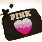 VICTORIA SECRET PINK MESSENGER LAPTOP CASE BAG BLING