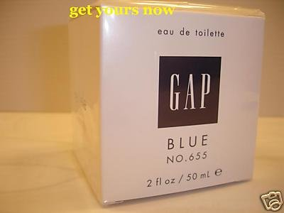 2 x GAP BLUE FOR HER NO 655 EDT PERFUME PARFUME 50 ML