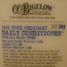 4 BATH BODY WORK BIGELOW CONDITIONER NOT YOUR ORDINARY