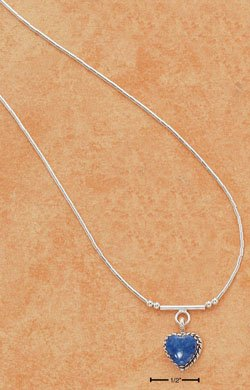"STERLING SILVER 16"" LIQUID SILVER NECKLACE ( nk93 )"