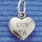 STERLING SILVER JEWELRY ANTIQUED 2 SIDED (ch243)