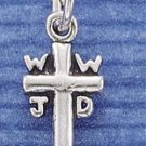 STERLING SILVER JEWELRY SMALL CROSS (ch70)