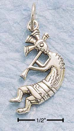 STERLING SILVER JEWELRY KOKOPELLI CHARM (ch395)