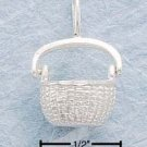 STERLING SILVER JEWELRY OPEN NANTUCKET BASKET CHARM (ch99)