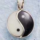 STERLING SILVER JEWELRY YIN YANG CHARM (ch289)