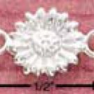 "STERLING SILVER 9"" DAISY ANKLET (br1068)"