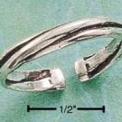 STERLING SILVER JEWELRY TRIPLE BAND THUMB RING SIZES 5-9 (sr537)