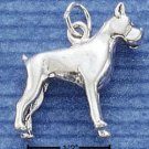 STERLING SILVER JEWELRY 3D BOXER CHARM (ch1011)