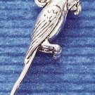 STERLING SILVER JEWELRY 3D PARROT CHARM  (ch1012)