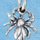 STERLING SILVER JEWELRY SPIDER CHARM {P11623}