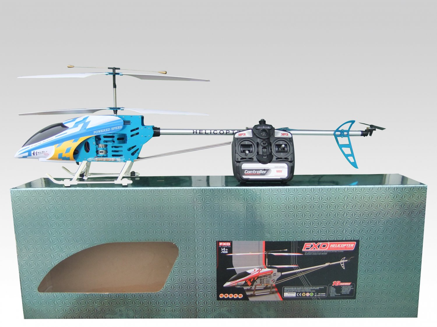 51� FXD A68690 3ch RC Helicopter with Gyro(3.5ch)