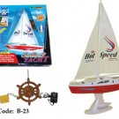 Dual Motors Radio Controlled RC Sailing Yacht