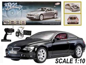 1:10 BMW 645CI High Performance RC Car BLACK