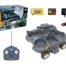 Amphibious Land and Sea RC Tank With Light And Fire Function