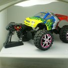 "15"" 1:10 RC Crawler King 4WD Radio Control Yellow"