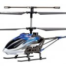 """14.5"""" Syma S32 Metal Lightning 3CH 2.4Ghz RC Helicopter Blue"""