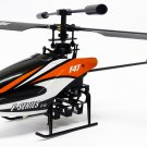 "10"" MJX F-SERIES F647 4ch 2.4G Single blade RC Helicopter Orange"