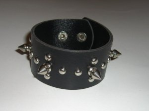 Rocker Studded Wristband! New!