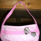 Mini Pink Handbag! With a Ribbon!! New