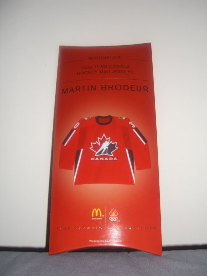 All New & Highly Collectible Mini Jersey of Martin Brodeur # 30