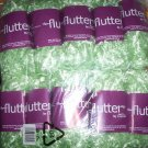 FREEPOST - 10 Skein / balls x 50 gram MINT GREEN FEATHER YARN