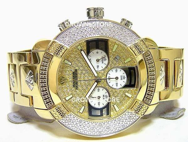 New Aqua Master Large Round 20 Diamond 2TONE Watch