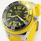 IceTime Chroma 54MM Round Stainless steel Yellow Watch