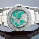 King Master 12 Diamond 48M Round  Case watch