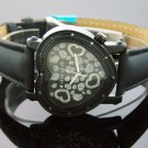 Swiss Master By KM Large Heart 12 Diamonds Watch