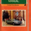 1983 Oldsmobile Cutlass Ciera-Cutlass Cruiser Owner's Manual - AM0023
