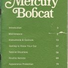 1977 Mercury Bobcat Owner's Manual - AM0067