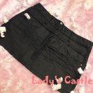 The black skirt