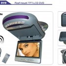 """8""""SHARP 16:9 Roof Mount TFT-LCD/DVD, Car Roof Mounted Monitors, Car Electronics"""