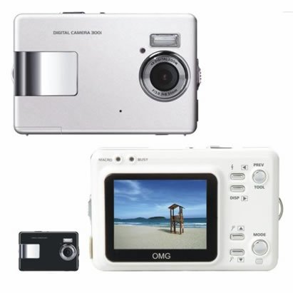 ".6Mega Pixels Digital Camera with 2.0""LCD (TDC-3502B), Digital Cameras, Electronics"